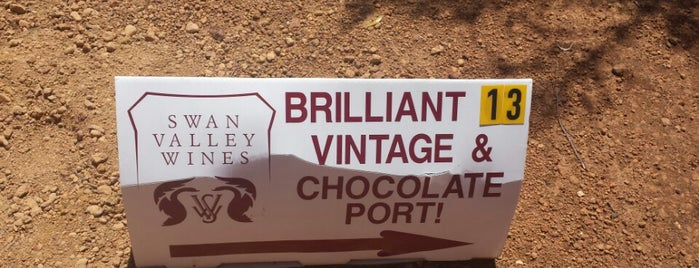Swan Valley Wines is one of Down under.