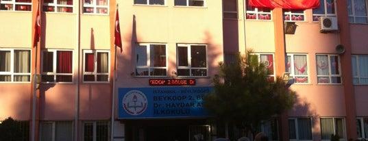 Haydar Aslan İlköğretim Okulu is one of gezdigim yerler.