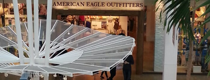 American Eagle Outfitters is one of places.