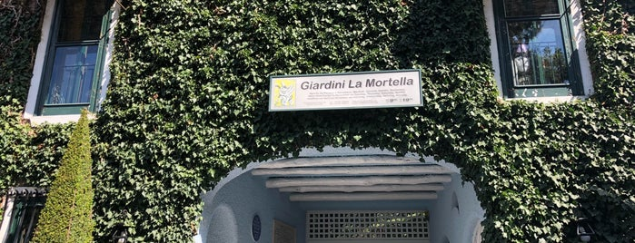 Giardini La Mortella is one of Ischia.