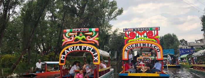 Trajineras Xochimilco is one of Mexico/CDMX.