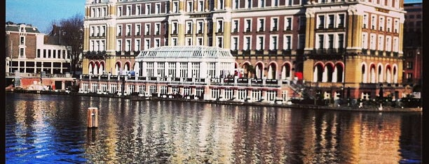 InterContinental Amstel Amsterdam is one of Oteller.