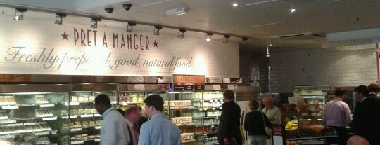 Pret A Manger is one of Lndn:Been there, done that.
