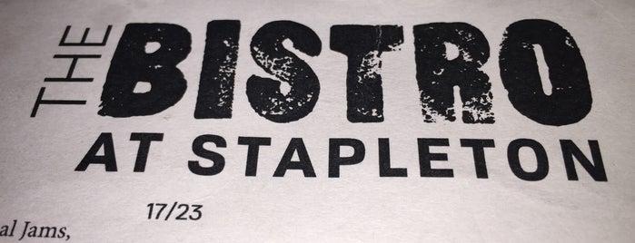 The Bistro at Stapleton is one of Tempat yang Disukai Matthew.