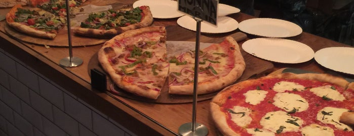 Pellicola Pizzeria is one of DTLA local digs.