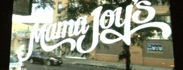 Mama Joy's is one of Bushwick.