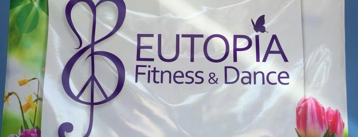 Eutopia Fitness & Dance is one of Tempat yang Disimpan Eutopia.