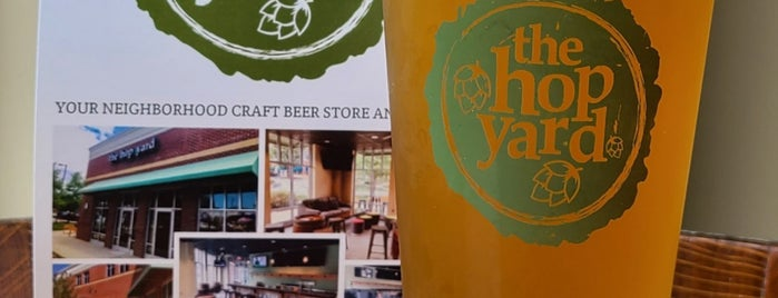 The Hop Yard is one of Triangle Craft Beer.