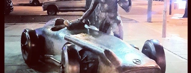 Monumento a Juan Manuel Fangio is one of Outdoor Activity in BAires.