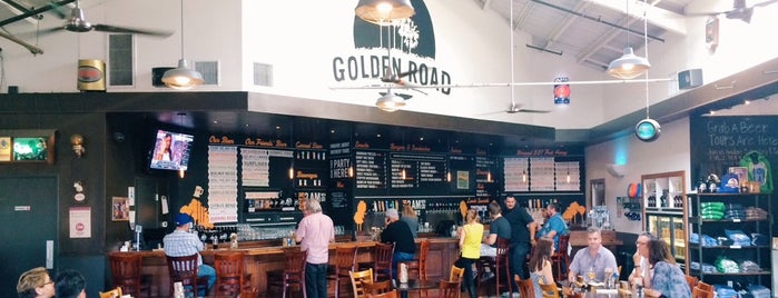 Golden Road Brewing is one of SoCal Bars.