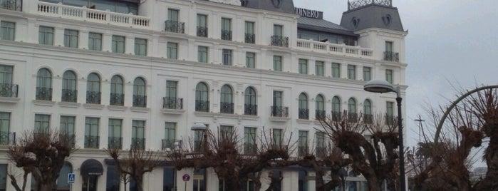 Gran Hotel Sardinero is one of Hoteles en España.