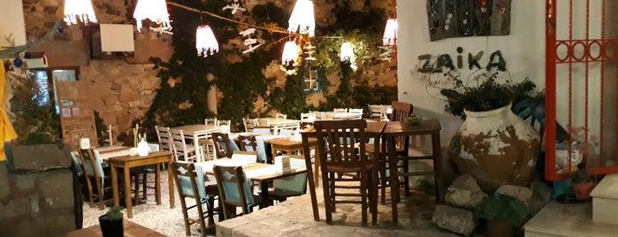 Zaıka Balık Restaurant is one of Can 님이 저장한 장소.