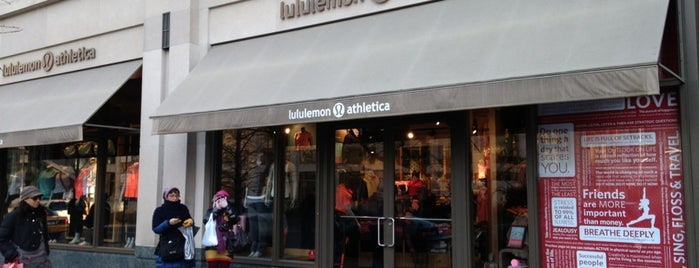 lululemon athletica is one of Lieux qui ont plu à Foxxy.