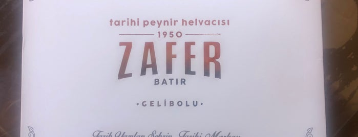 Zafer Tarihi Peynir Helvacısı is one of Lugares guardados de Hakan.