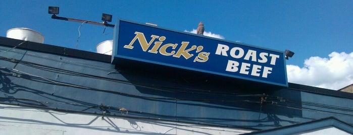 Nick's Roast Beef is one of Tempat yang Disimpan Carlos.