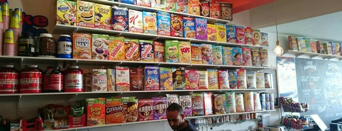 The Cereal Bar is one of Inglaterra.