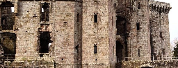 Raglan Castle is one of Tempat yang Disukai Carl.