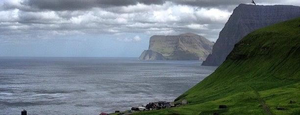Trøllanes is one of Faroe Islands.