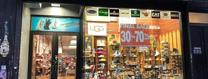Saga Shoes is one of Shariさんの保存済みスポット.