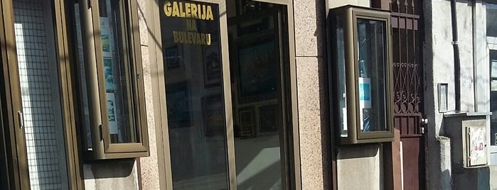 Galerija Na Bulevaru is one of Belgrade museums & art galleries.