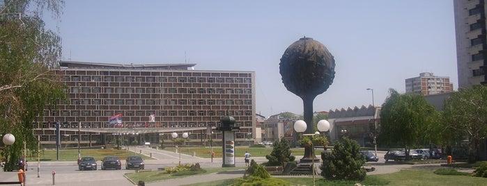 Trg Slobode is one of Make sure to visit in Kragujevac.