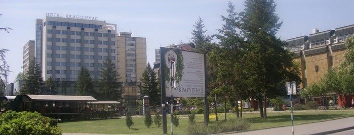 Trg Narodnih Heroja is one of Make sure to visit in Kragujevac.