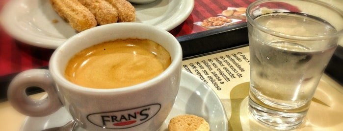 Fran's Café is one of Orte, die Emerson gefallen.