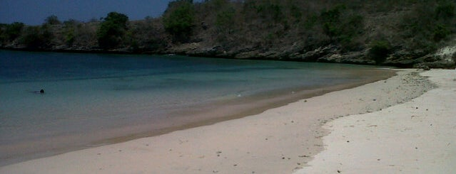 Pantai Pink (Pink Beach) is one of My Places :).