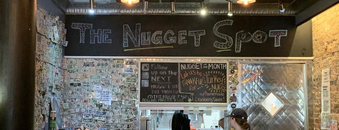 The Nugget Spot is one of Chantelle'nin Kaydettiği Mekanlar.