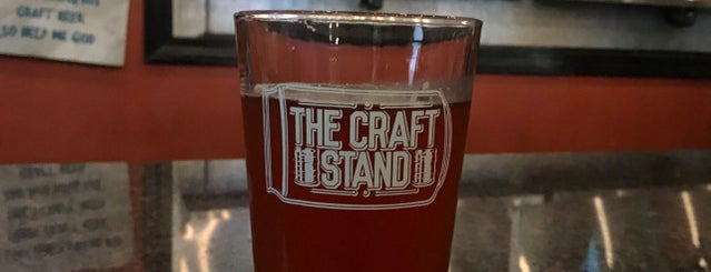 The Craft Stand is one of CraftBeer.com's Best Craft Beer Bar in Every State.