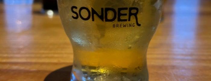 Sonder Brewing is one of Cincinnati Area Breweries.