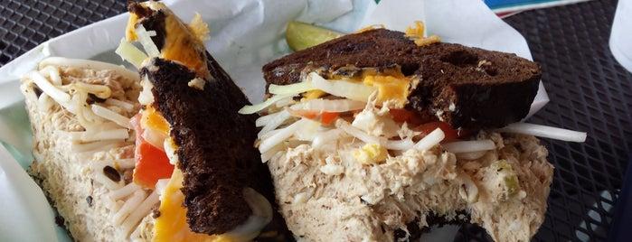 Hungry Hank's Deli is one of Tempat yang Disukai Brian.