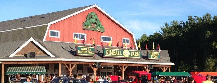 Kimball Farm is one of Seafood Restaurants.