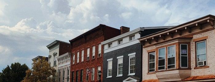 Hudson, NY is one of Upstate NY.