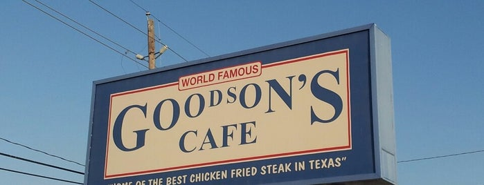 Goodson's Cafe is one of Locais salvos de Rita.