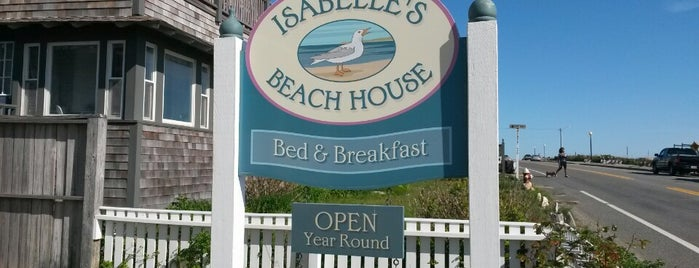 Isabelle's Beach House is one of MA.