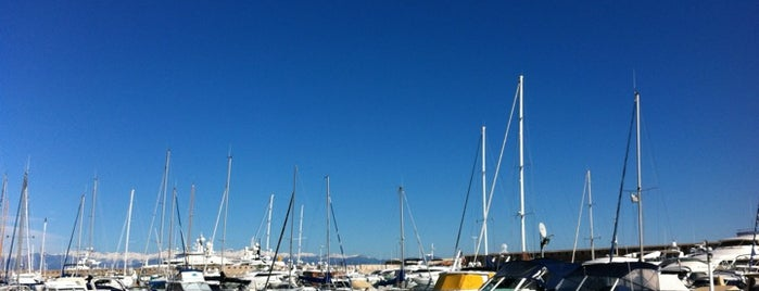 Antibes Yaught Show is one of My places.
