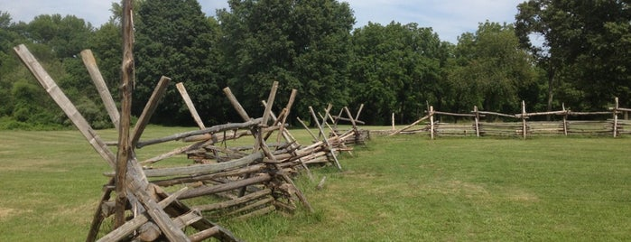 Monmouth Battlefield State Park is one of NJ.