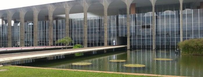 Palácio Itamaraty is one of BSB.