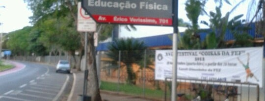 Faculdade de Educação Física (FEF) is one of unicamp.