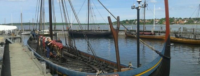 Vikingeskibsmuseet is one of Copenhagen (attractions).