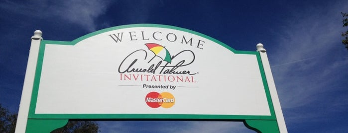 Arnold Palmer's Bay Hill Club & Lodge is one of ACTIVITIES.