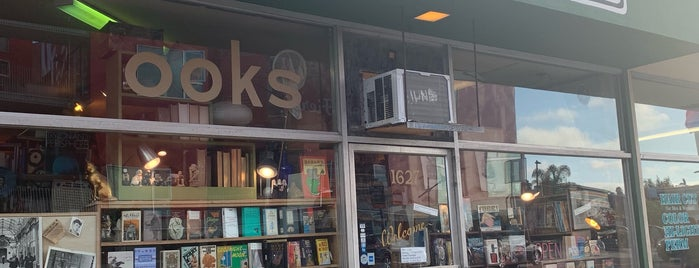 Footnote Books is one of Bookshops - US West.