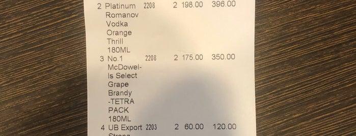 Liquor mart is one of Avinash'ın Beğendiği Mekanlar.
