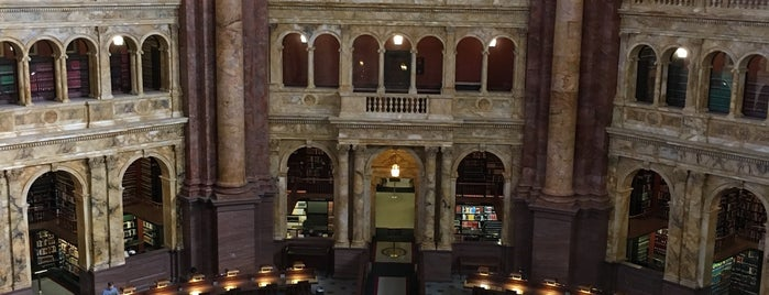 Library of Congress Cafeteria is one of Posti che sono piaciuti a Rachel.