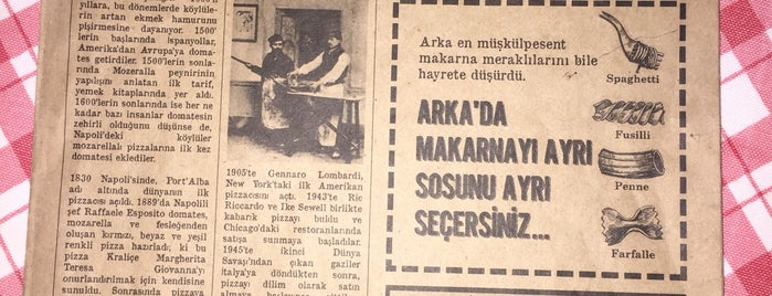 Arka Pizzeria is one of สถานที่ที่ Ali ถูกใจ.