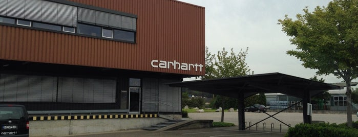 Carhartt Work In Progress Headquarter is one of Kevin : понравившиеся места.