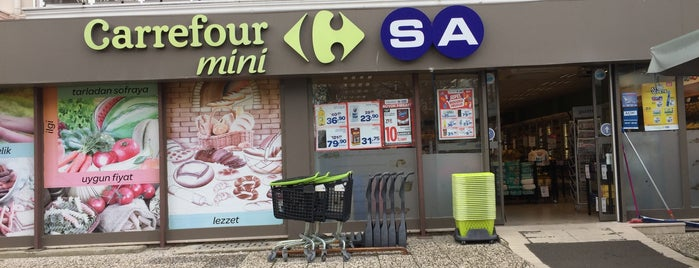 CarrefourSA Mini is one of Locais curtidos por Elif.