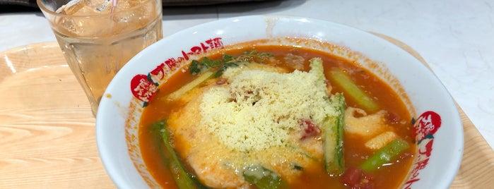 太陽のトマト麺 is one of 埼玉のラーメン.
