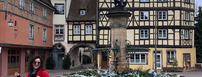 Fontaine Schwendi is one of Alsace.